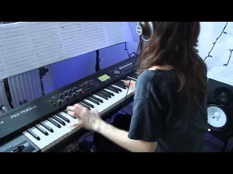 Iron Maiden - For The Greater Good Of God - piano cover Video