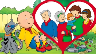 Animated Funny Cartoon  ¦ Cartoon Caillou | Happy Valentines Day Caillou | Cartoons for Children