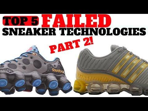 Top 5 FAILED Sneaker Cushioning Technologies Part 2!!