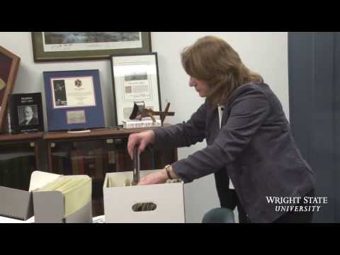 Video thumbnail: C-SPAN to air story on Wright State's priceless Wright brothers collection