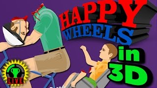GTLive: HAPPY WHEELS in 3D?! - I Spill My GUTS and Glory by The Game Theorists