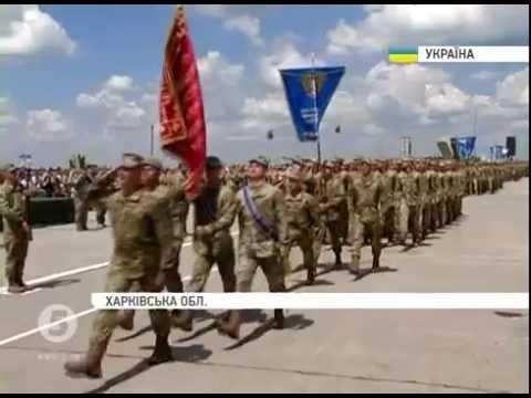 Порошенко вручив бойовий прапор та присвоїв ХУПС статус Національного