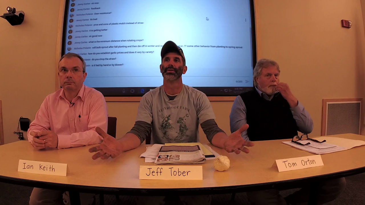 Garlic Farmers Panel Video Screenshot