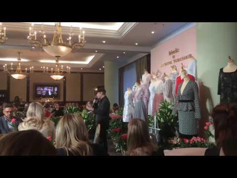 Юдашкин  Валентин рассказывает о своей коллекции одежды для Faberlic!