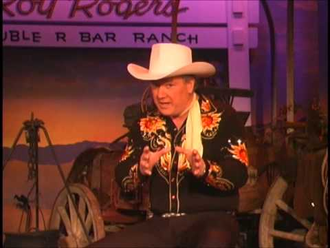 The Great American Wild West Show Salutes The Silver Screen Cowboys intro by Roy Rogers,Jr