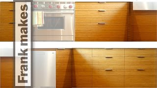 Kitchen Remodel: Part 12 - Bamboo Door and Drawer Fronts