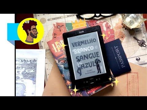 VERMELHO, BRANCO & SANGUE AZUL | Vlog de Leitura | BOOKCRUSHES