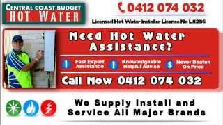 Gorokan Australia  city photo : Hot Water Systems Gosford Central Coast Repairs Hot Water Services & Plumbers