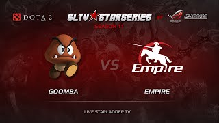 Empire vs Goomba, game 1