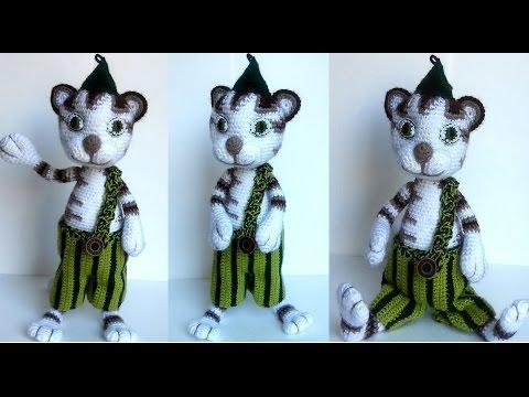 Amigurumi patterns Stuffed animal Cat Findus  Plush toys Amigurumi Pettson Crochet toy patterns