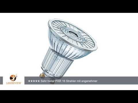 OSRAM LED-Reflektorlampe ADVANCED PAR16 80 830 dimmbar GU10 220-240V 36Grad 7.2W 575lm 3000K 25.000h