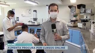 Aumenta procura por cursos online durante a pandemia