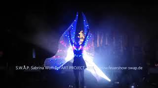 LED Lichtshow DELiGHTFUL in der Schwabenlandhalle Fellbach von Sabrina Wolfram