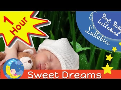 ♥  Songs To Put A Baby To Sleep Lyrics-Baby Lullaby Lullabies for Bedtime  With Rain Falling ♥