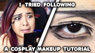 Video I Tried Following a Cosplay Makeup Tutorial... MP3, 3GP, MP4, WEBM, AVI, FLV Agustus 2019
