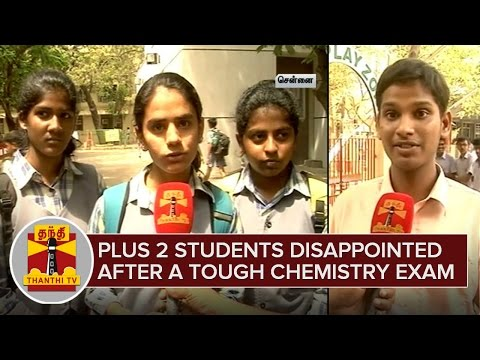 Plus-2-Students-disappointed-after-a-Sterner-Chemistry-Exam-Thanthi-TV