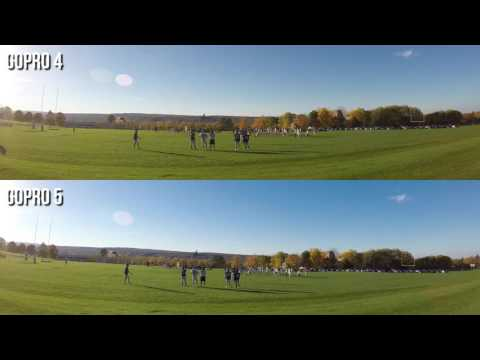 GoPro 5 Black Vs 4 4K Video Footage Quality Comparison Test