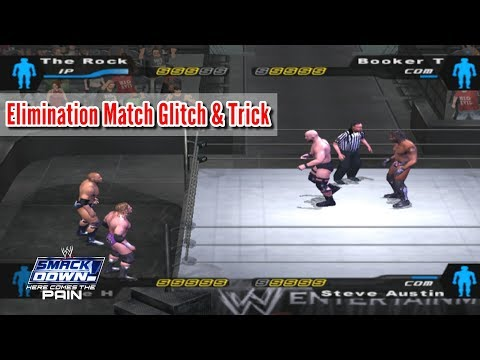 Elimination Tag Match Glitch And Trick In WWE SmackDown! Here Comes The Pain (2003)