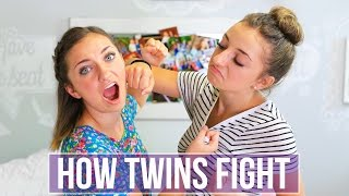 Video How Twins Fight | Brooklyn and Bailey MP3, 3GP, MP4, WEBM, AVI, FLV Desember 2017