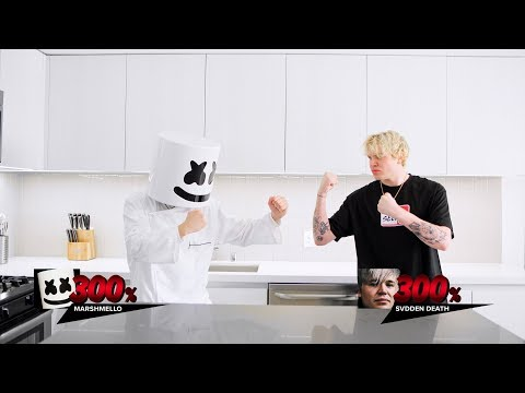 Headbangers and Mash with SVDDEN DEATH | Cooking With Marshmello - Thời lượng: 116 giây.