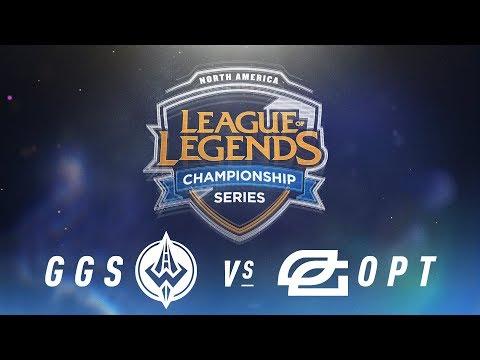 GGS vs. OPT - Week 6 Day 1   NA LCS Spring Split   Golden Guardians vs. OpTic Gaming (2018)