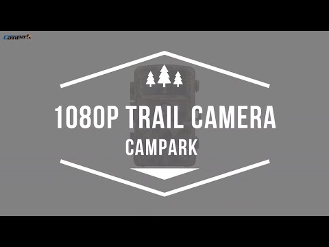 Campark Trail Game Camera T45 Unboxing & Video Footage