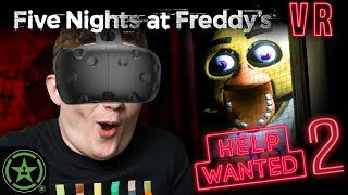 We're Safe Under the Desk! - Five Nights at Freddy's VR: Help Wanted (#2) by Let's Play