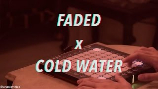 Video COLD WATER X FADED MASHUP ! - ANANTAVINNIE MP3, 3GP, MP4, WEBM, AVI, FLV Juli 2018