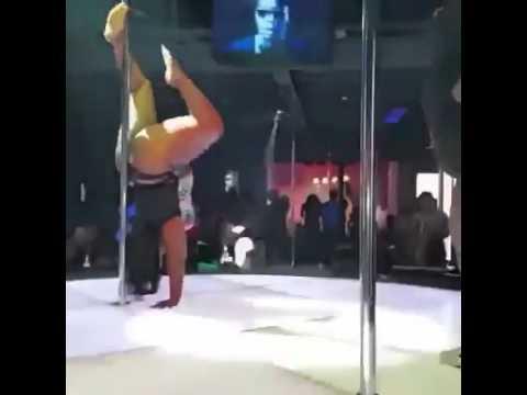 Tow fat women dance