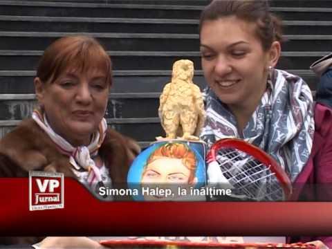 Simona Halep, la înălțime