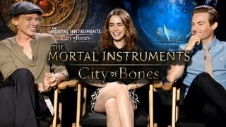 Nonton The Mortal Instruments  City Of Bones  Main Cast  Interviews  Film Subtitle Indonesia Streaming Movie Download