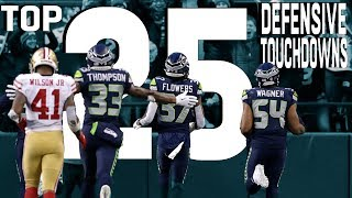 Top 25 Defensive Touchdowns of the 2018 Season! | NFL Highlights by NFL