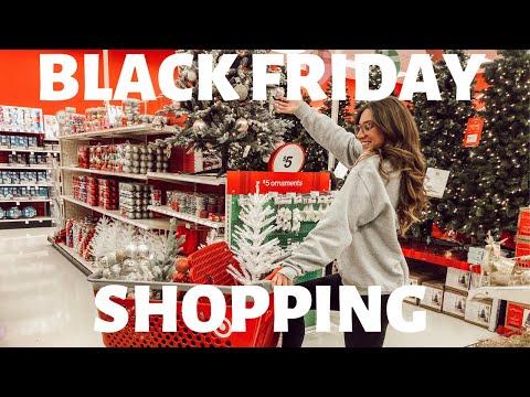 Black Friday SHOPPING: new TV, mini haul, vlogmas prep