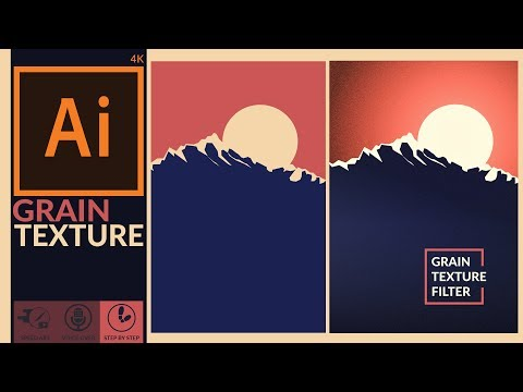 Enhancing Artwork With Grain Texture Effect In Adobe Illustrator