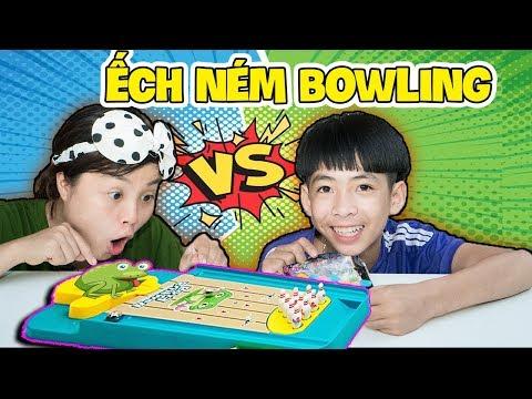 Trò Chơi Ếch Ném Bowling - Hai Chị Em Phải Đoàn Kết ❤ KN CHENO