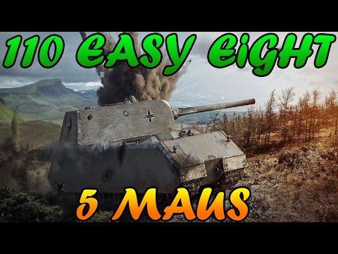 Men of War Assualt Squad 2 - 5 MAUS vs 110 Sherman Easy Eight - Editor Scenario #28