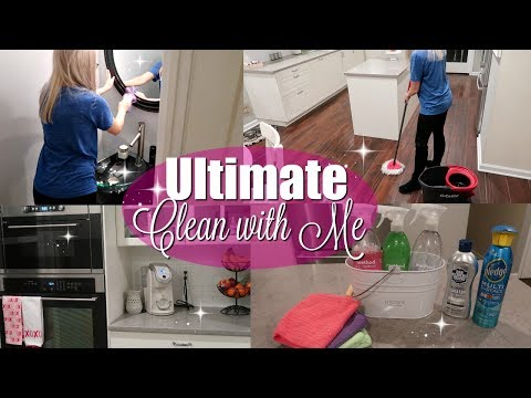 ULTIMATE CLEAN WITH ME 2018 // EXTREME CLEANING MOTIVATION // BEAUTY AND THE BEASTONS