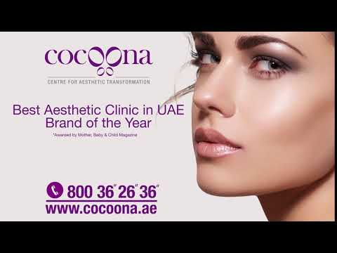 Cocoona Best Aesthetic Clinic 2017 in UAE