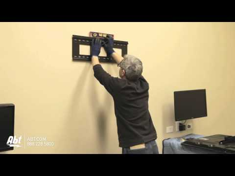 How To Wall Mount a TV (LED & LCD) - Abt Electronics (видео)