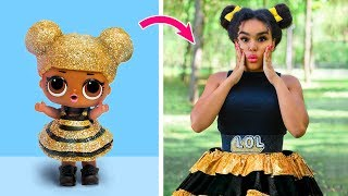 Video LOL Surprise Dolls In Real Life / 10 LOL Surprise Hairstyle And Clothes Ideas MP3, 3GP, MP4, WEBM, AVI, FLV Agustus 2019