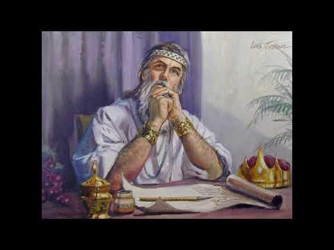 1 Reis - Salomão é proclamado rei   (Completo / Bíblia Falada) #11