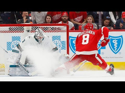 Video: The best goals from the Sharks and Red Wings shootout thriller