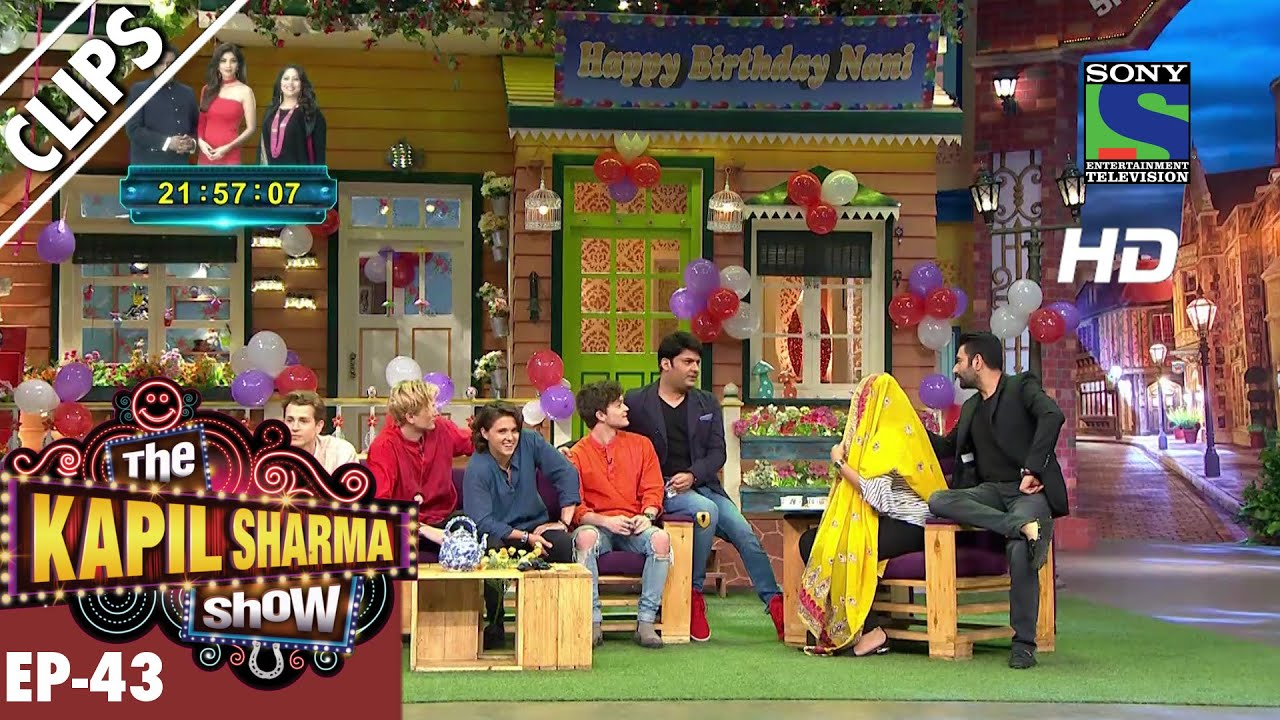 'The Vamps' in the Kapil Sharma Show – The Kapil Sharma Show – Episode 43 – 17th September 2016