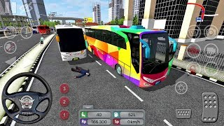 Nonton Bus Simulator Indonesia #18 CRAZY DRIVER! - Bus Game Android gameplay Film Subtitle Indonesia Streaming Movie Download