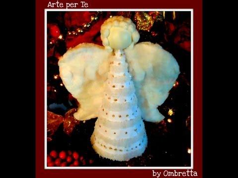Costruiamo un l'angelo di natale (Fai da te) - Arte per Te -