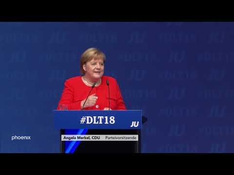 Rede von Angela Merkel beim Deutschlandtag der Jungen ...