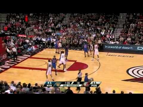 New York Knicks 100 – Portland Trail Blazers 86