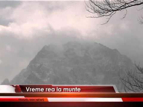 Vreme rea la munte