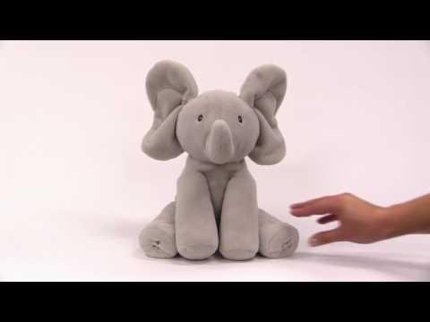 Peek a Boo Animated Talking Elephant