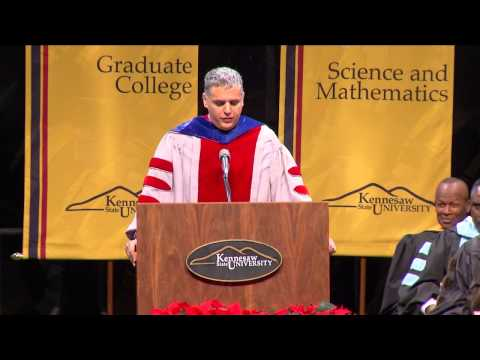Gil Weinberg - KSU Commencement 2013